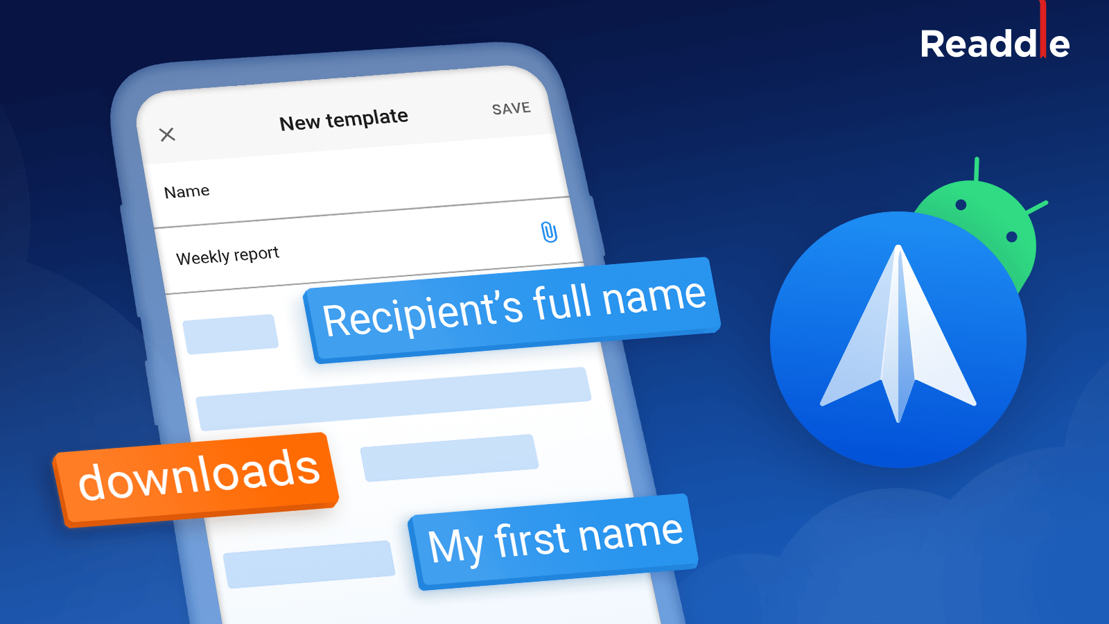 Spark For Android Gets Email Templates To Help You Save Time