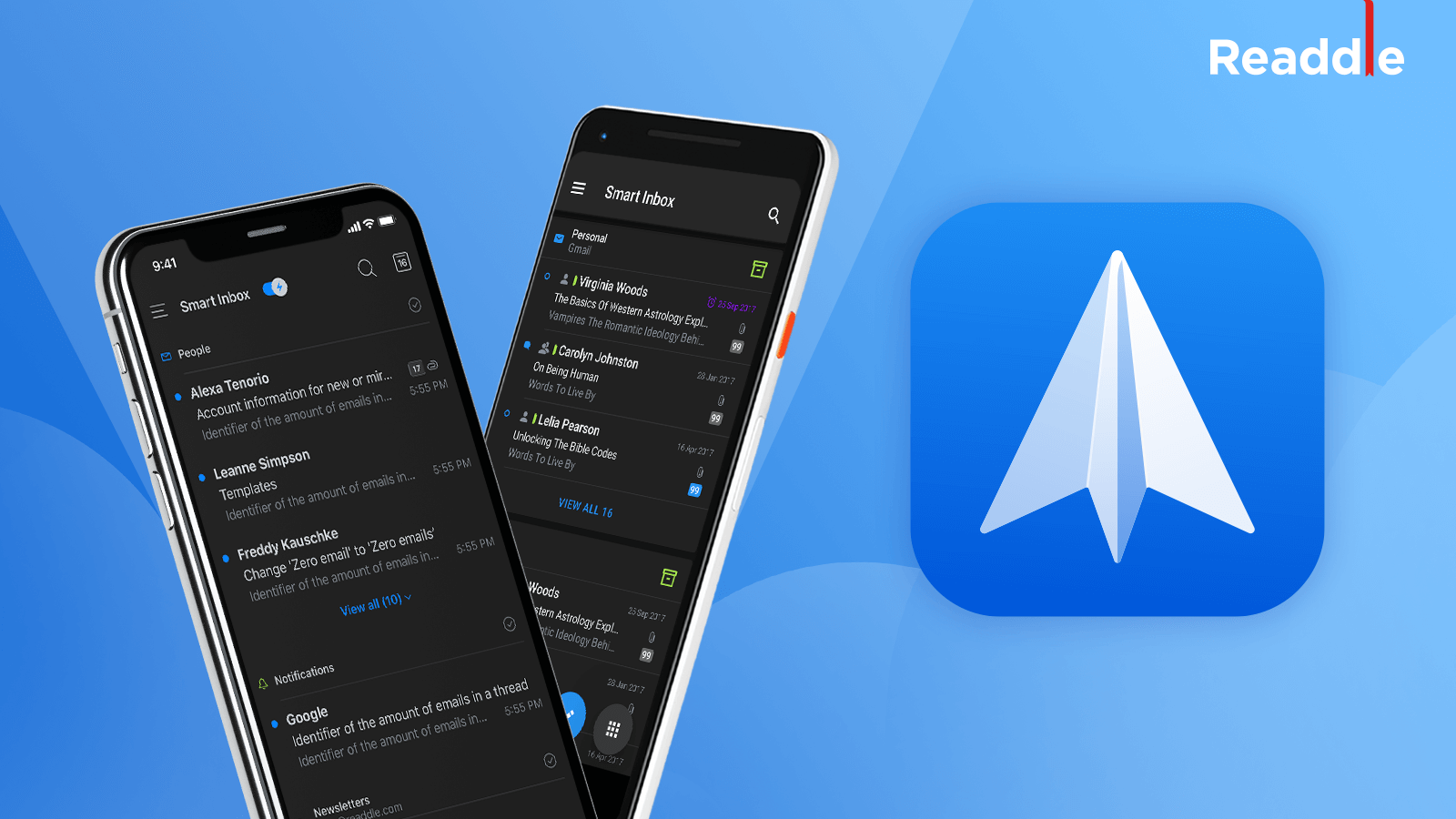 Spark email gets the Dark Mode on iOS & Android | Blog