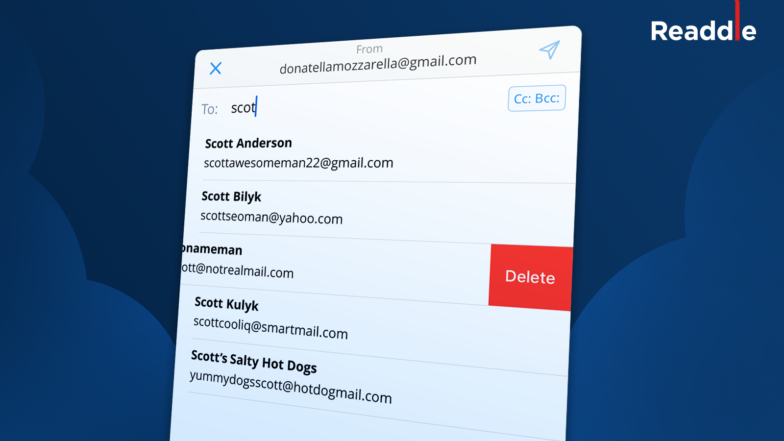 How to Remove Irrelevant Email Contact Suggestions | Spark
