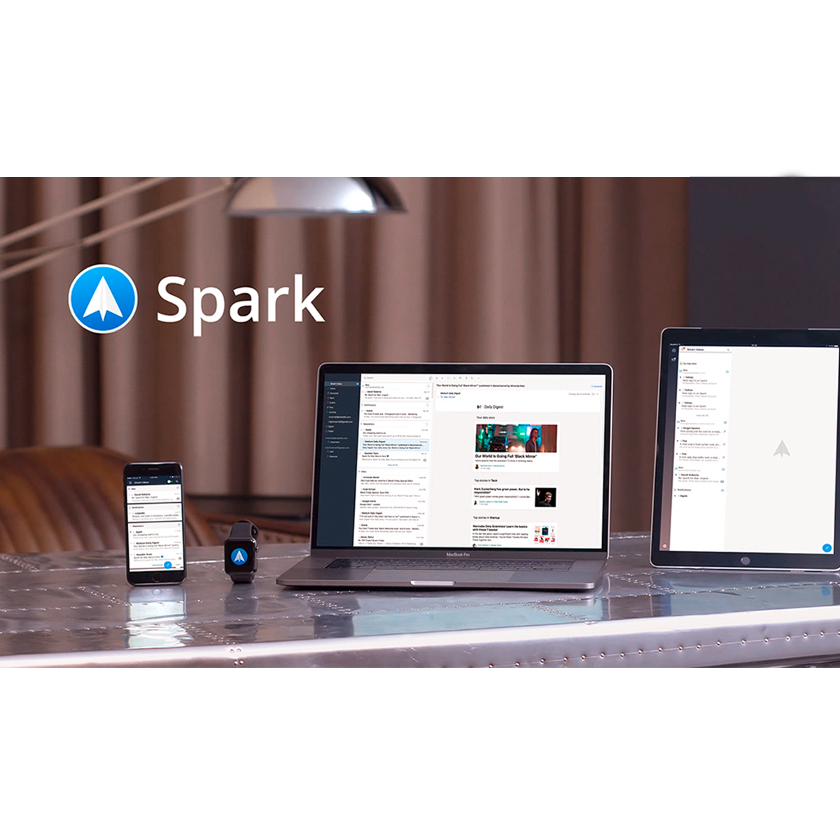 The best email app for iPhone iPad and Mac | Spark