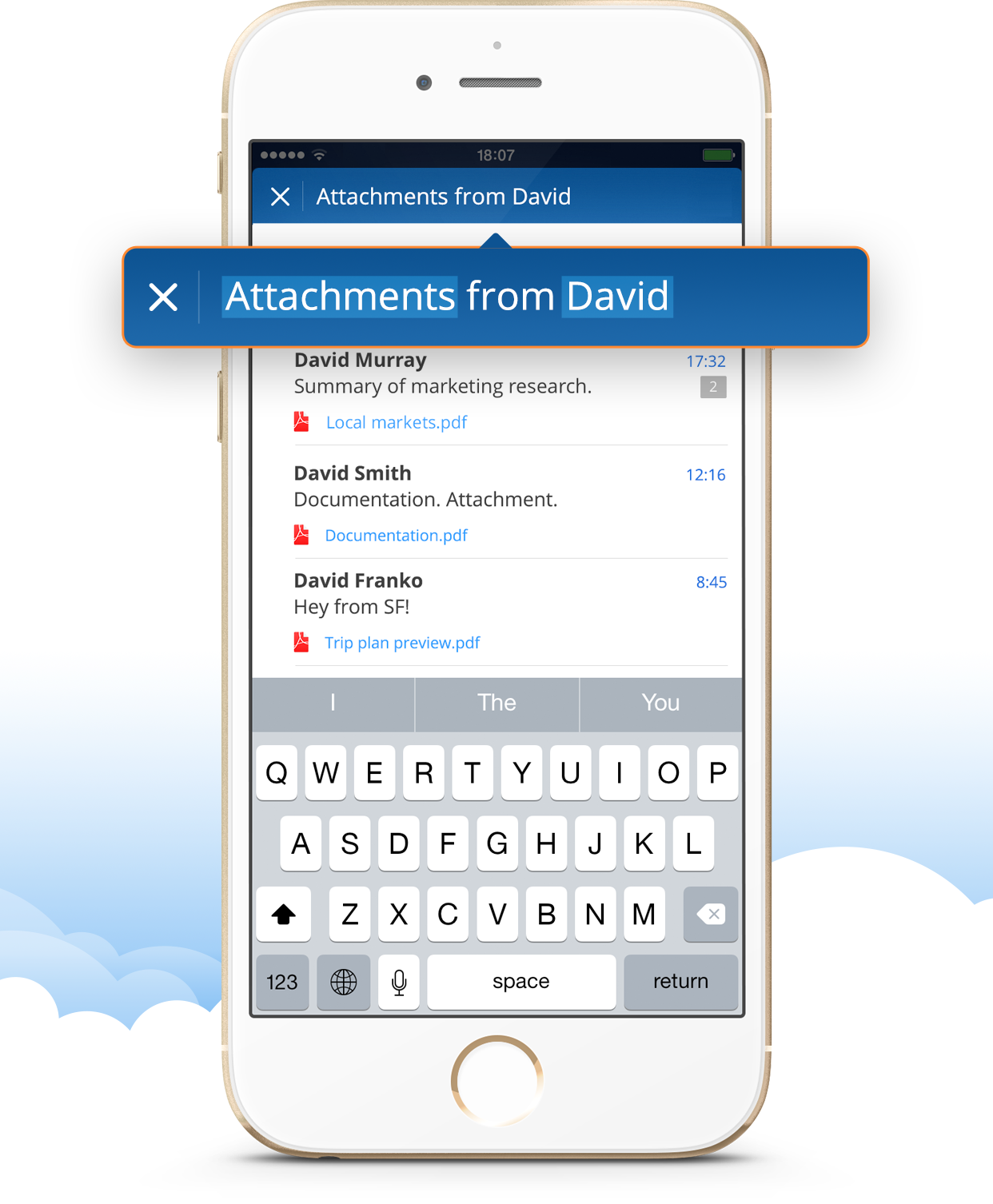 Search email on iPhone, iPad and Mac | Spark by Readdle